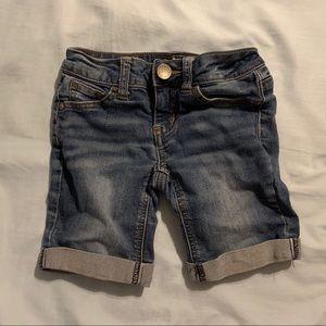 Girls midi shorts